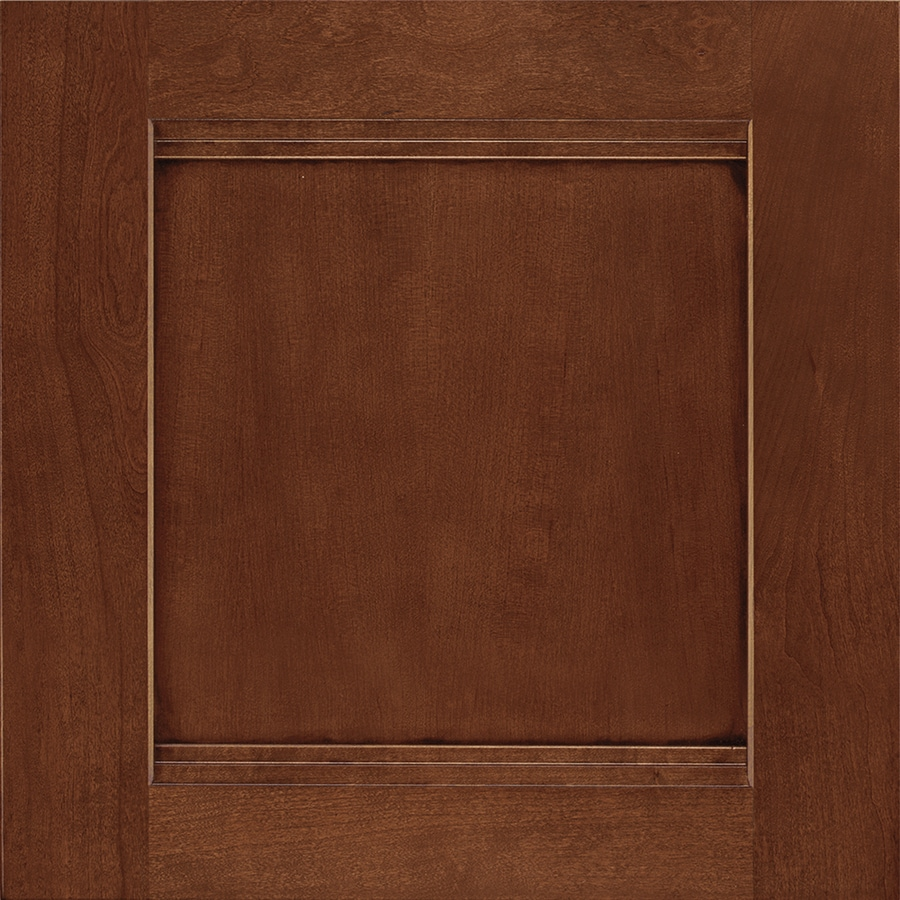 Shenandoah Solana 14.5-in x 14.5625-in Chocolate Glaze Cherry Square Cabinet Sample