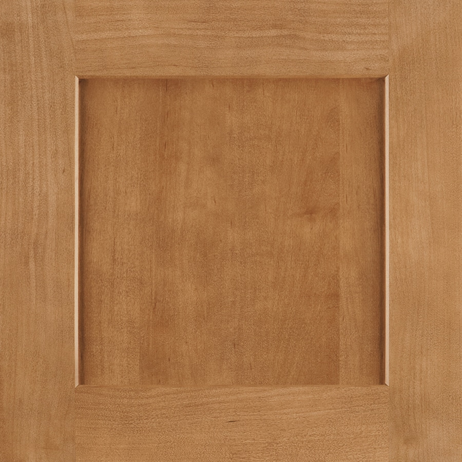 Shenandoah Mission 14.5-in x 14.5625-in Spice Maple Square Cabinet Sample
