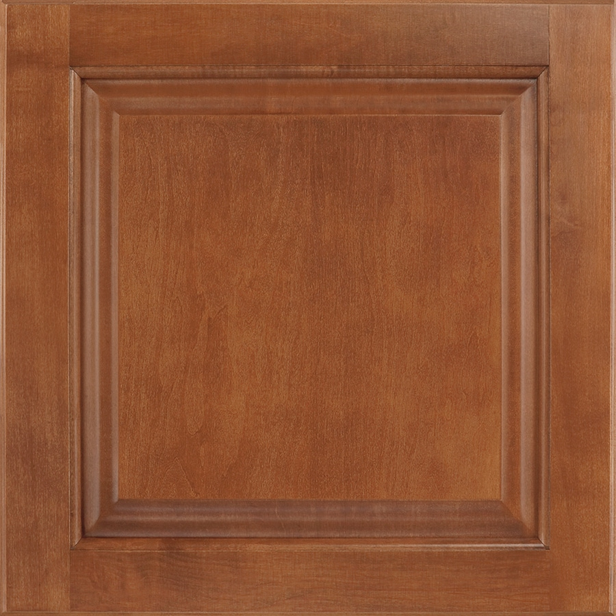 Shenandoah Orchard 14.5-in x 14.5625-in Cognac Maple Square Cabinet Sample