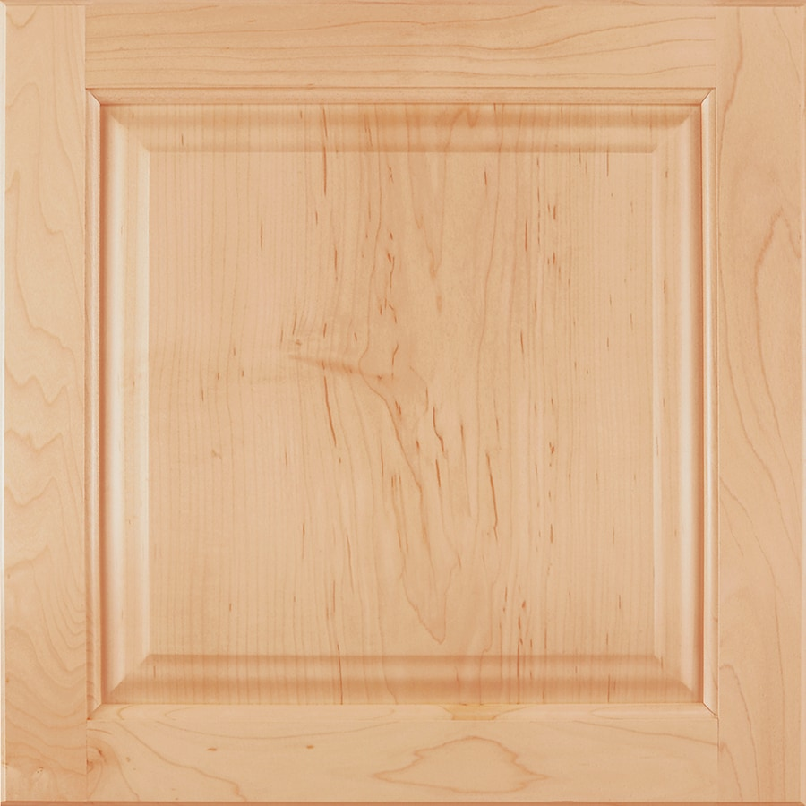 Shenandoah Orchard 14.5-in x 14.5625-in Natural Maple Square Cabinet Sample