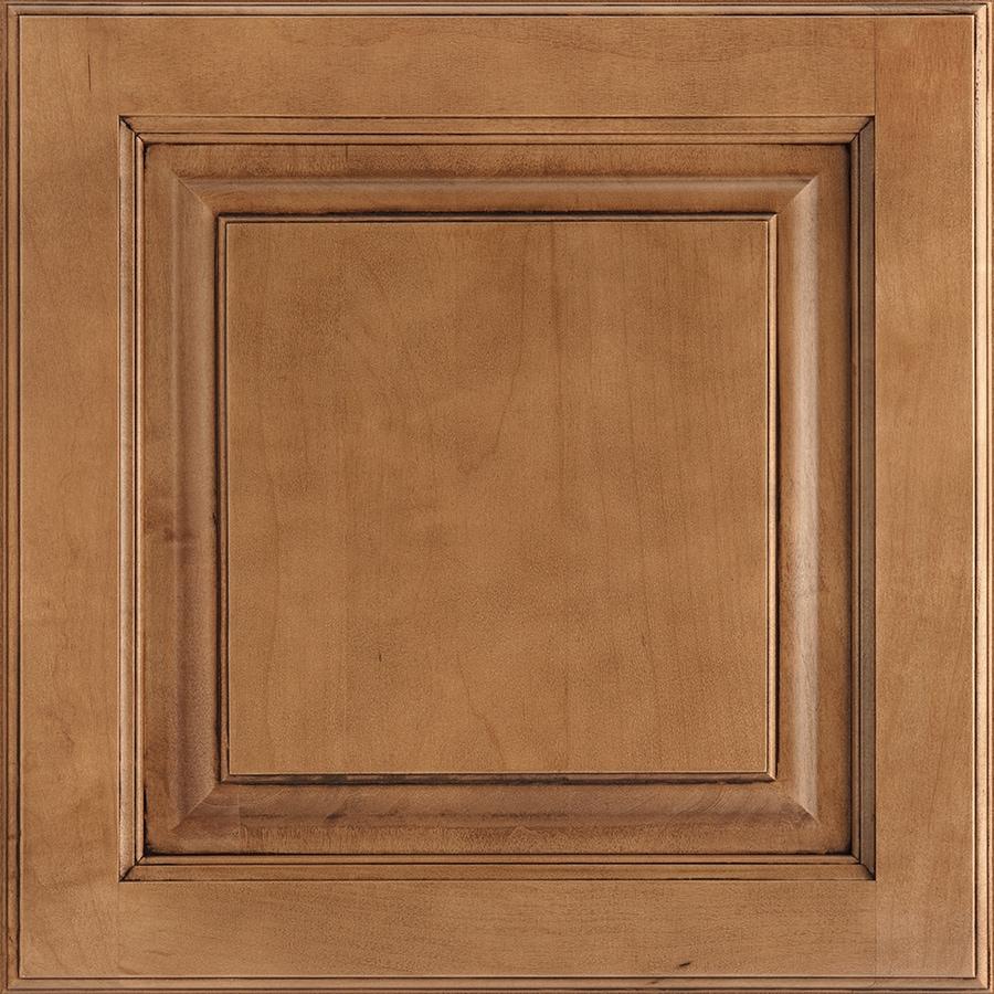 Shenandoah Grove 14.5-in x 14.5625-in Mocha Glaze Maple Square Cabinet Sample