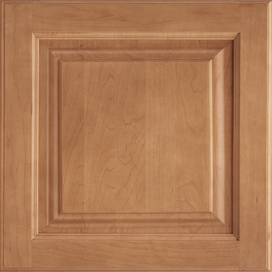 Shenandoah Grove 14.5-in x 14.5625-in Spice Maple Square Cabinet Sample