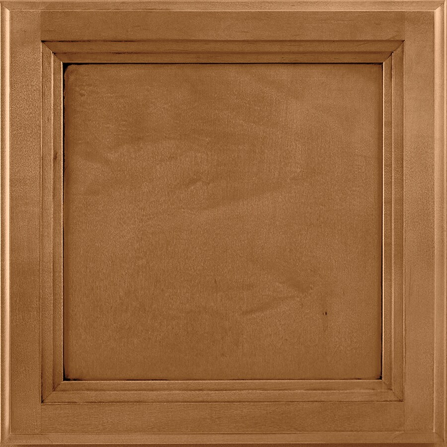 Shenandoah Dominion 14.5-in x 14.5625-in Mocha Glaze Maple Square Cabinet Sample