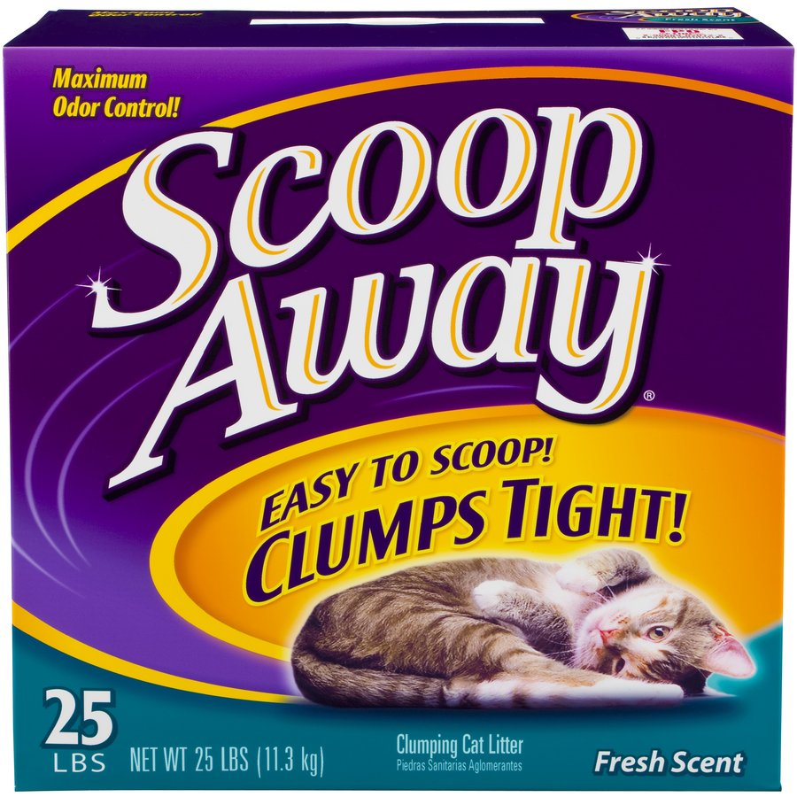 Scoop Away 25-lbs Clay Cat Litter