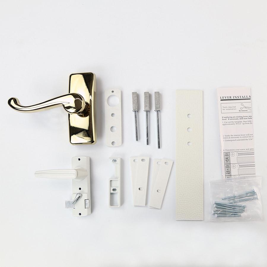 Pella 11-3/4-in Screen Door & Storm Door Outside Handle