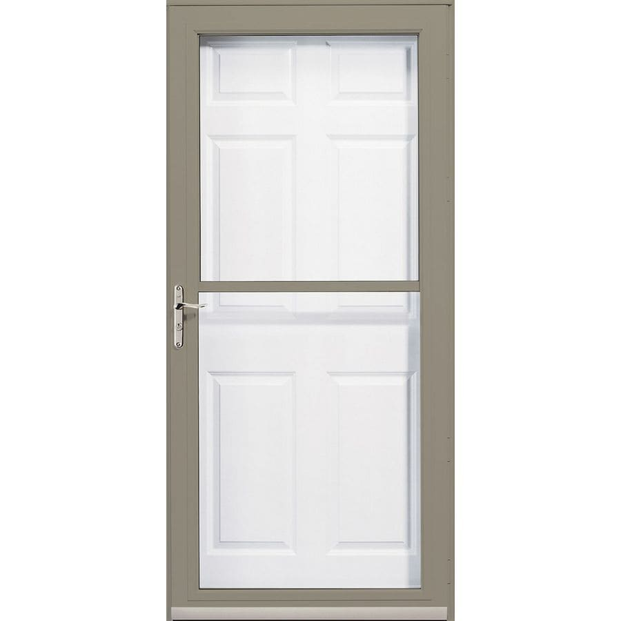 Pella Putty 3800 Series Full-View Safety Storm Door