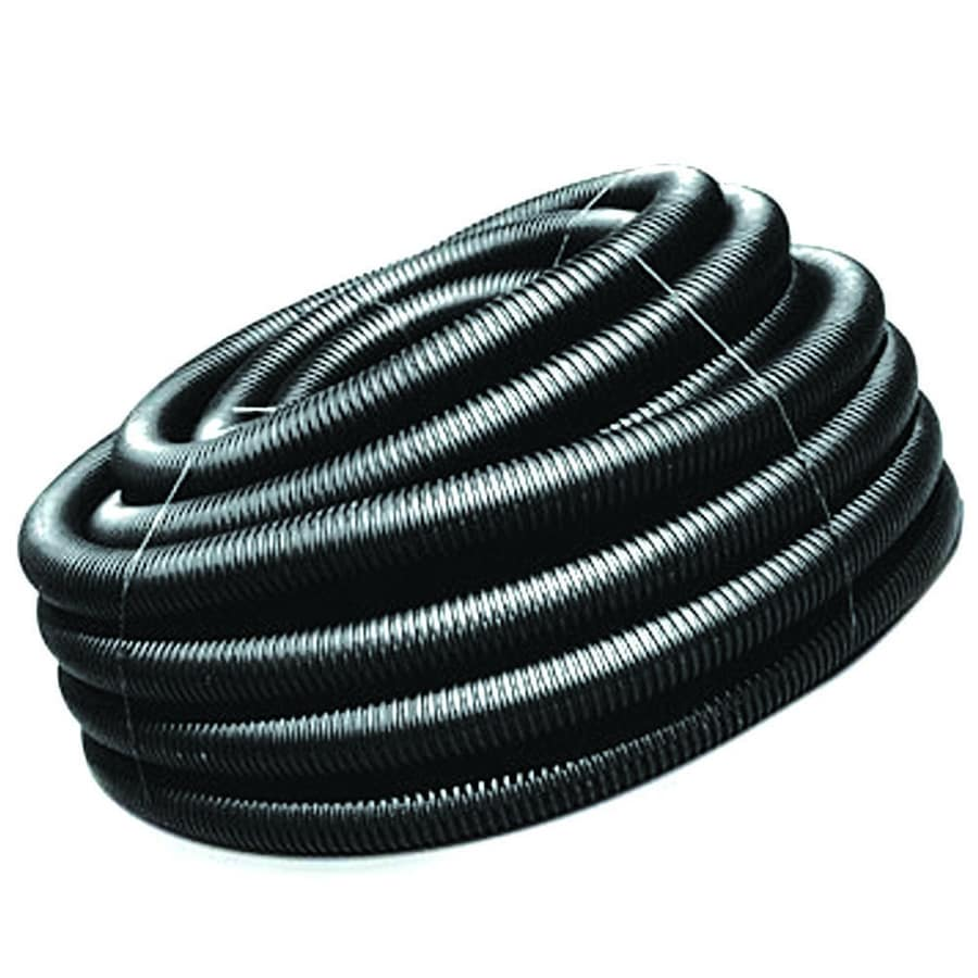 ADS 6-in x 100-ft Corrugated Solid Pipe