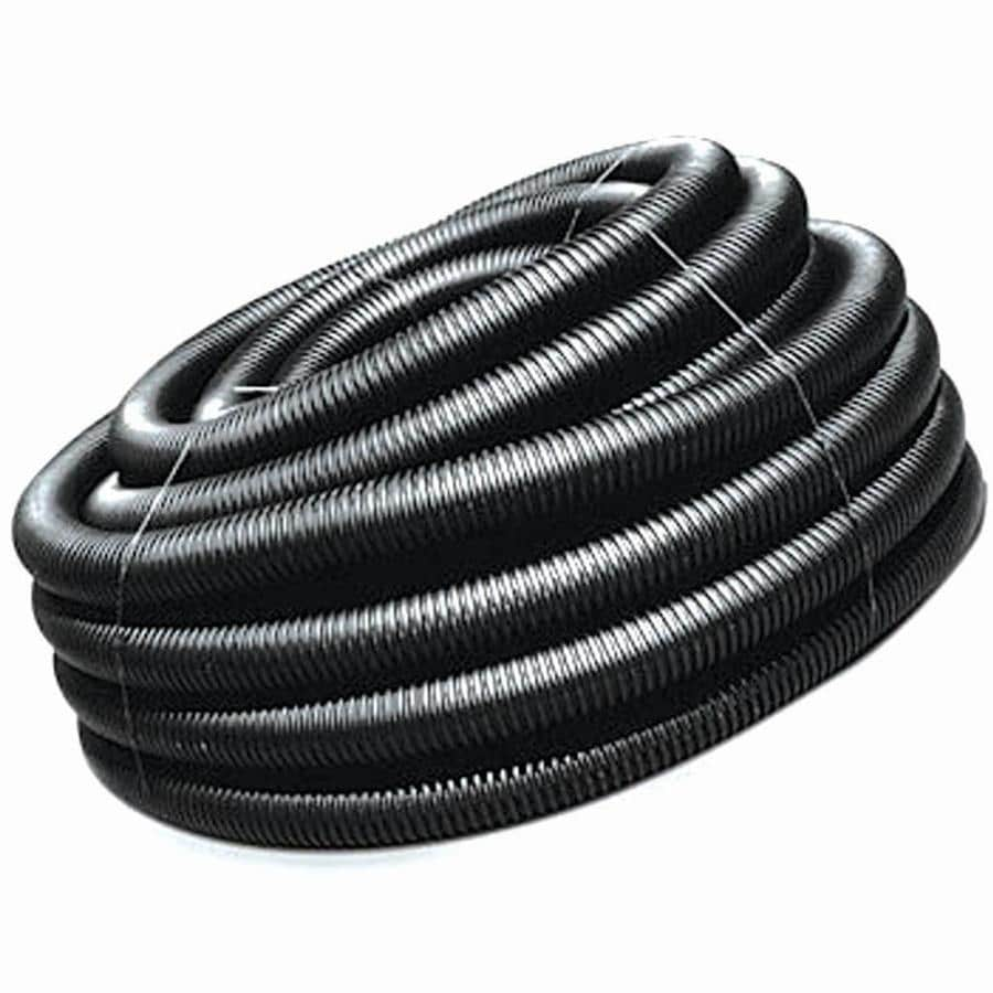ADS 4-in x 250-ft Corrugated Solid Pipe