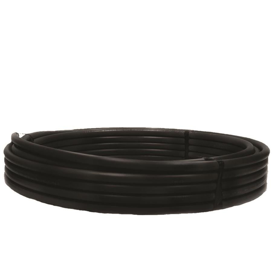 ADS 1-in x 300-ft 160-PSI Plastic Coil Pipe