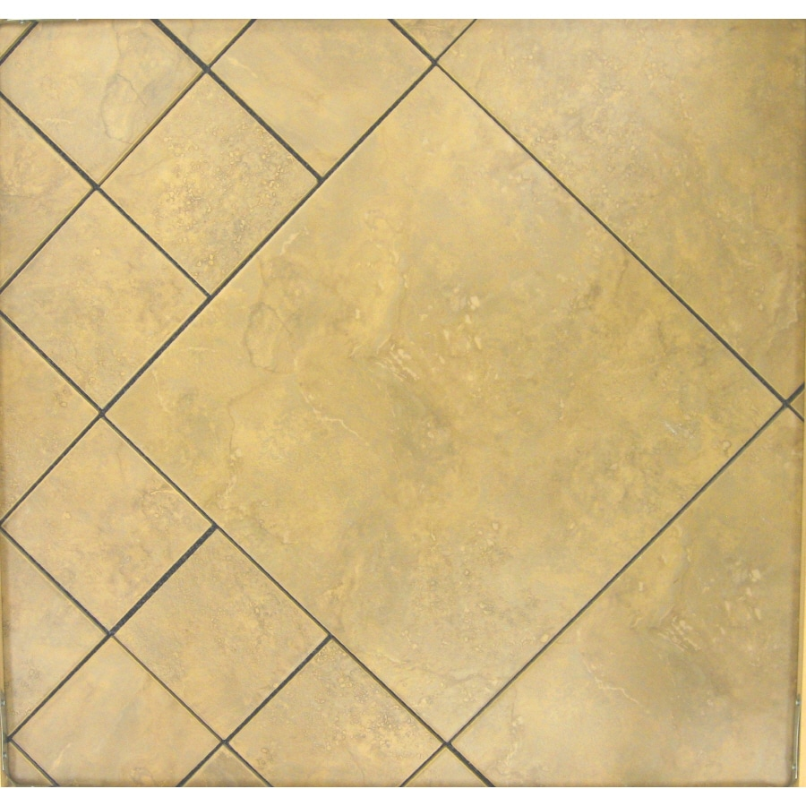 Surface Source 6-in x 6-in Ravello Beige Glazed Porcelain Wall Tile
