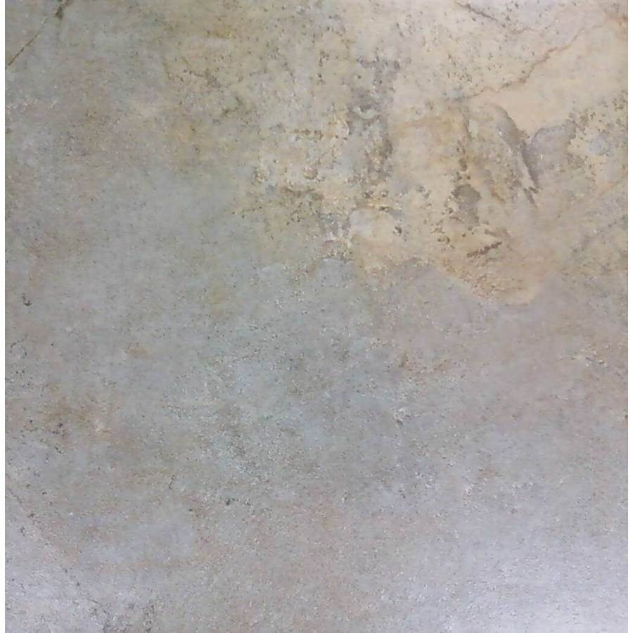 Style Selections 7-Pack Camelot Gold Glazed Porcelain Indoor/Outdoor Floor Tile (Common: 18-in x 18-in; Actual: 17.75-in x 17.75-in)