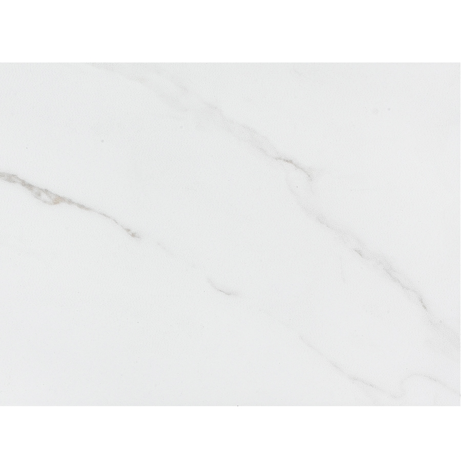 Shop style selections calacatta white porcelain floor and wall tile common 9 in x 12 in - Lowes floor tiles porcelain ...