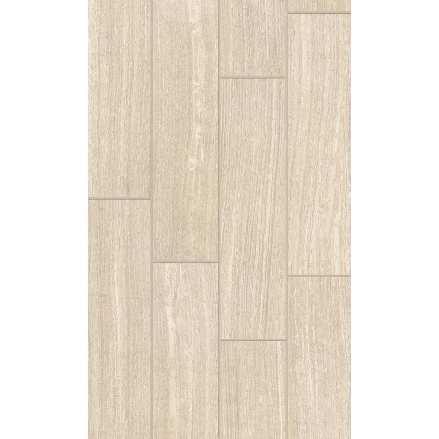 Shop Style Selections Leonia Sand Porcelain Floor And Wall