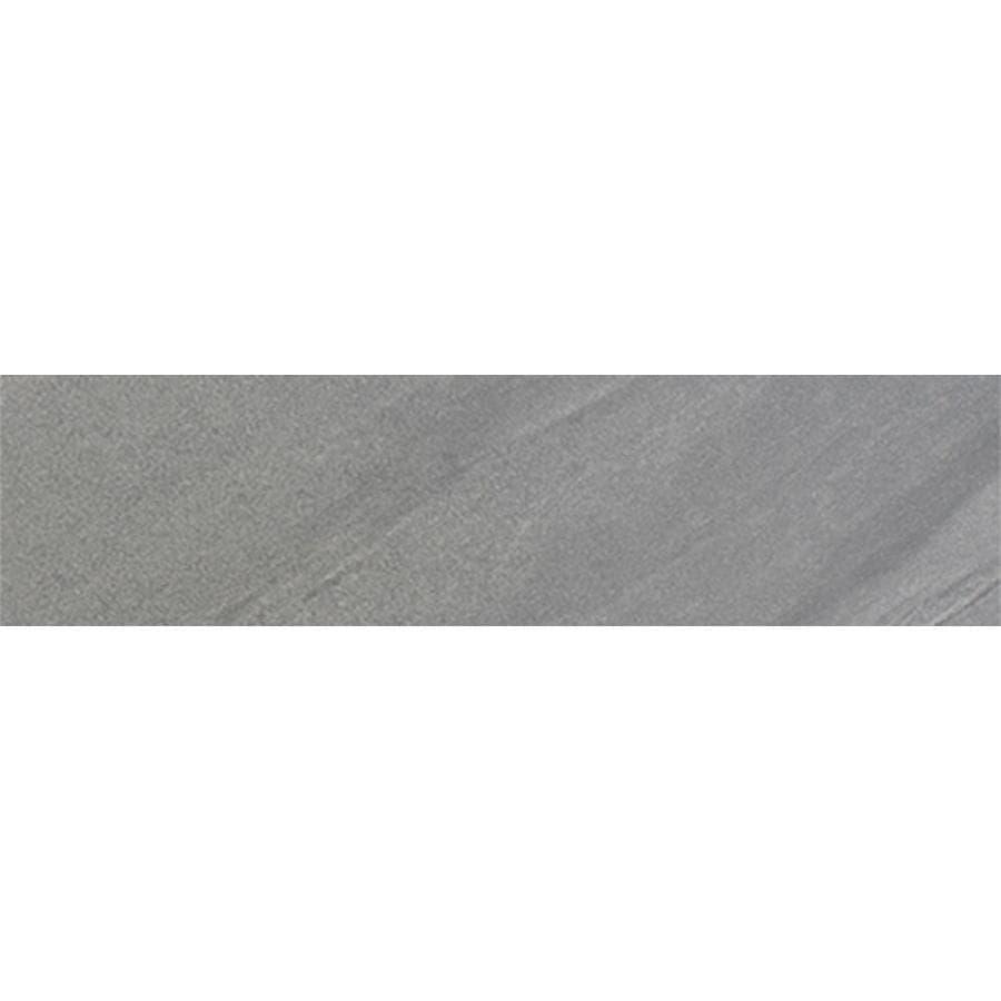 FLOORS 2000 Galaxy Grigio Porcelain Bullnose Tile (Common: 3-in x 12-in; Actual: 3-in x 11.92-in)