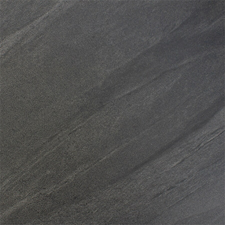 FLOORS 2000 Galaxy 14-Pack Nero Porcelain Floor and Wall Tile (Common: 12-in x 12-in; Actual: 11.92-in x 11.92-in)