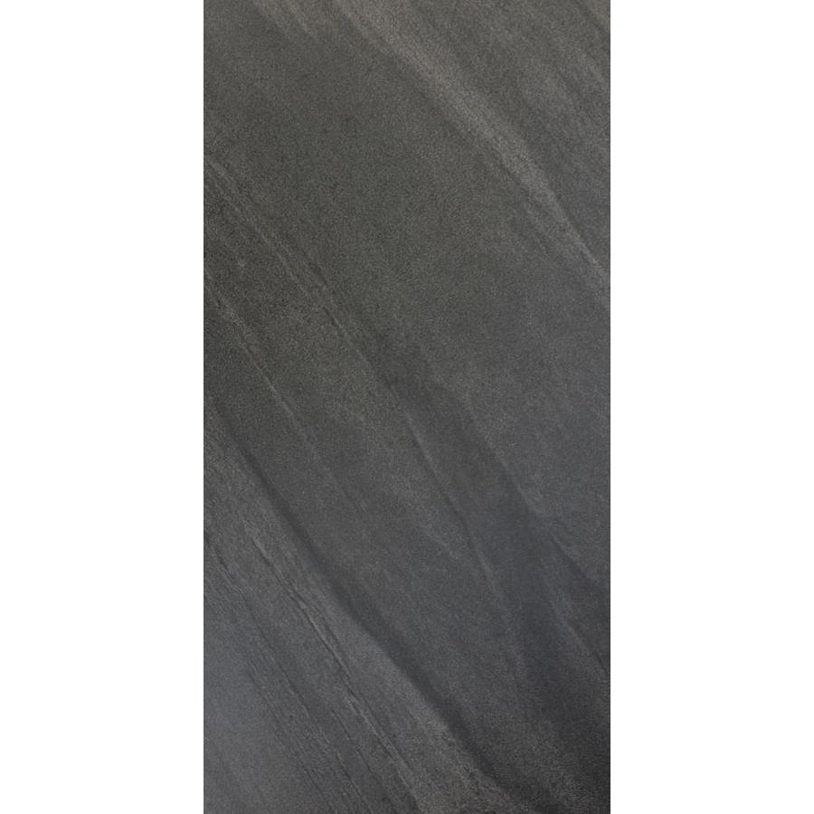 FLOORS 2000 Galaxy 7-Pack Nero Porcelain Floor and Wall Tile (Common: 12-in x 24-in; Actual: 11.75-in x 24-in)