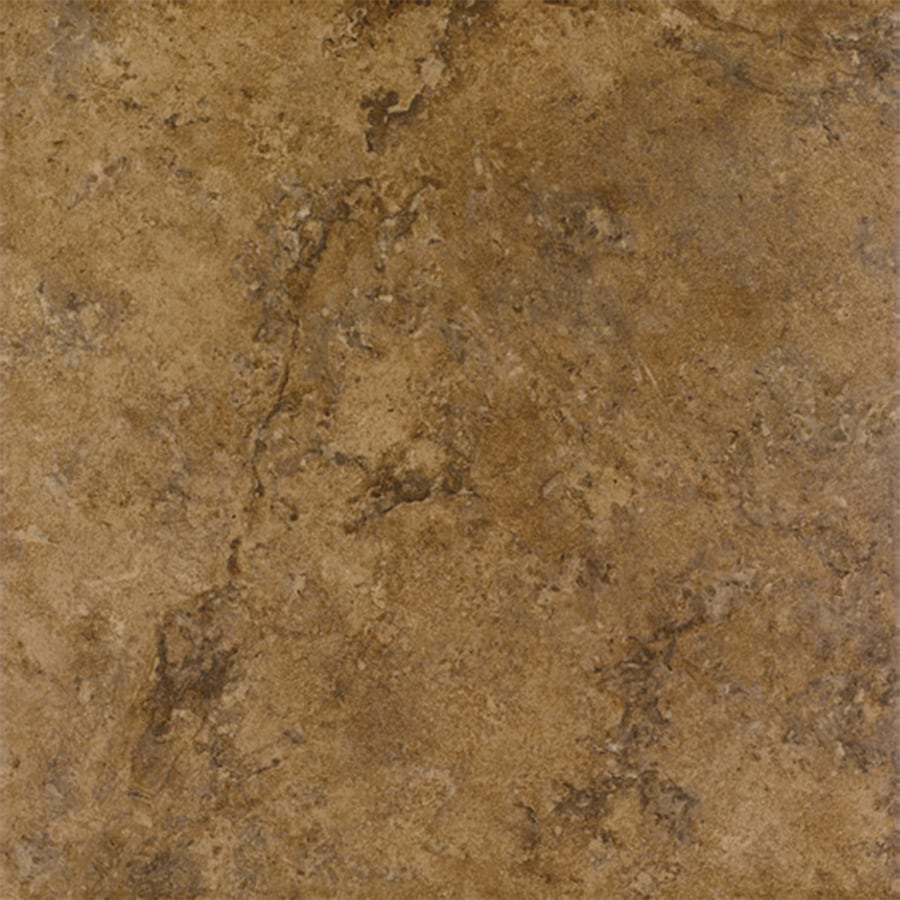 FLOORS 2000 Corfinio 6-Pack Sangria Porcelain Floor and Wall Tile (Common: 18-in x 18-in; Actual: 17.91-in x 17.91-in)