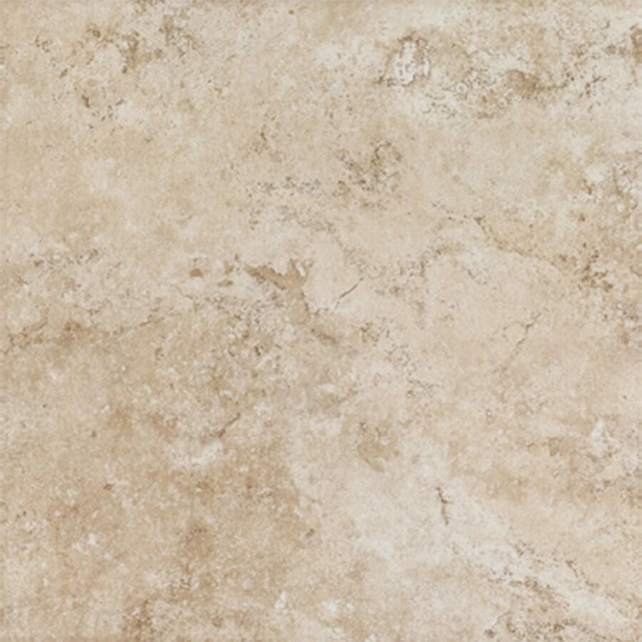 FLOORS 2000 Tiburstone 6-Pack Beige Porcelain Floor and Wall Tile (Common: 18-in x 18-in; Actual: 17.91-in x 17.91-in)