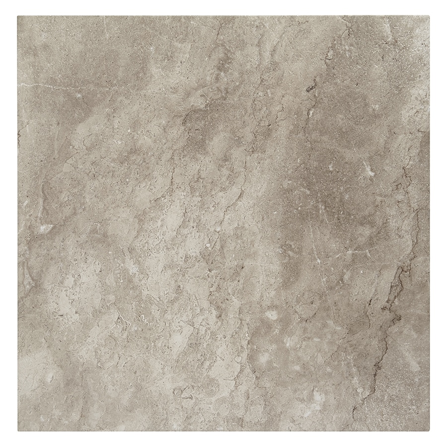 Style Selections Bagnoli Noce Porcelain Floor and Wall Tile (Common: 24-in x 24-in; Actual: 23.75-in x 23.75-in)