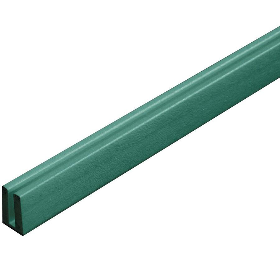Barrette 1/8-in x 3/4-in x 8-ft Green Lattice Cap