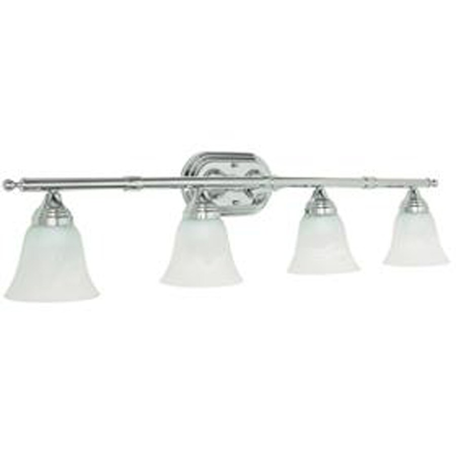 Shop 4 Light Ashton Polished Chrome Bathroom Vanity Light At
