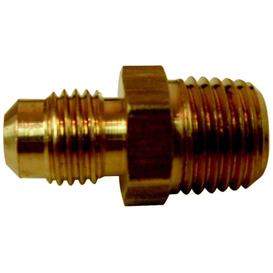 Watts 3/8-in x 3/8-in Threaded Flare x MIP Adapter Union Fitting