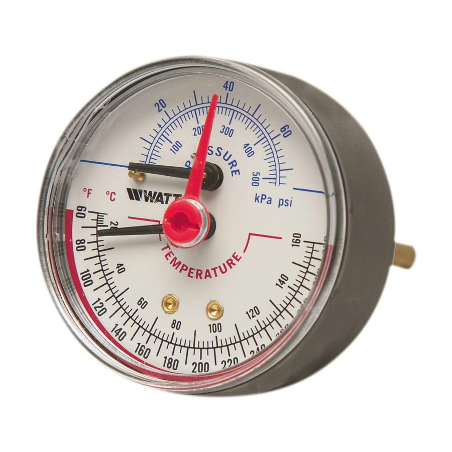 Electrical Hot Water Heater Shop Watts 1/2-in Back Entry Pressure and Temperature ...