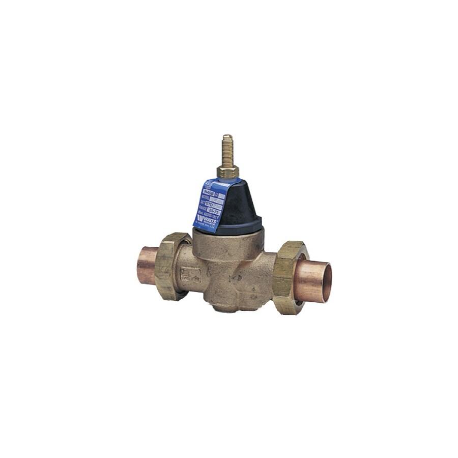 Watts 3/4-in Bronze Compression In-Line Pressure Reducing Valve