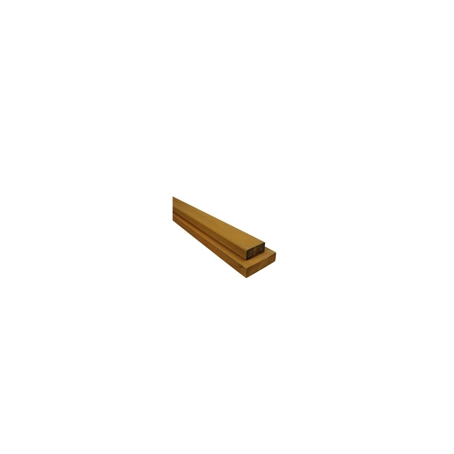Top Choice Premium Alkaline Copper Quat Treated Decking (Common: 2-in x 4-in x 8-ft; Actual: 1.5-in x 3.5-in x 96-in)