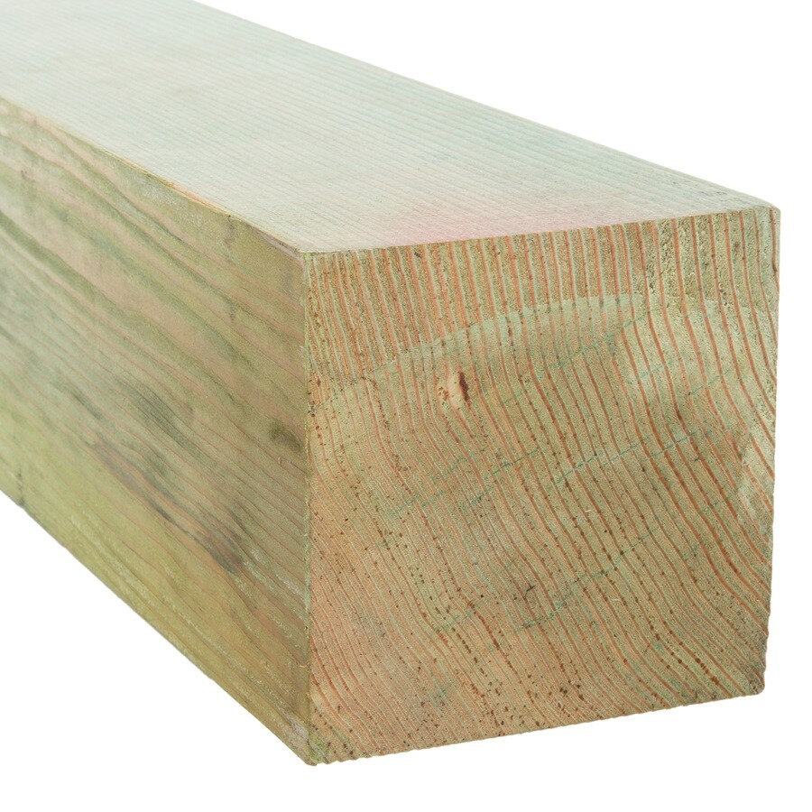 Pressure Treated (Common: 6-in x 6-in x 8-ft; Actual: 5.5-in x 5.5-in x 8-ft) Lumber