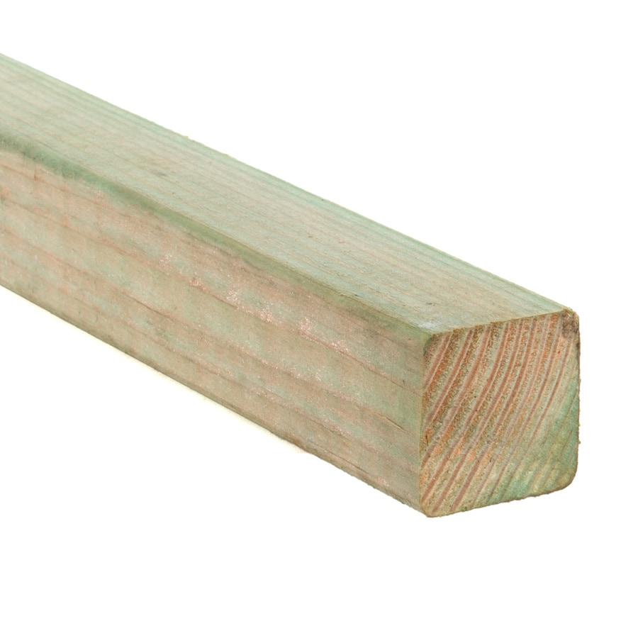 Pressure Treated Douglas/Fir Board (Common: 2-in x 2-in x 8-ft; Actual: 1.5625-in x 1.5625-in x 8-ft)