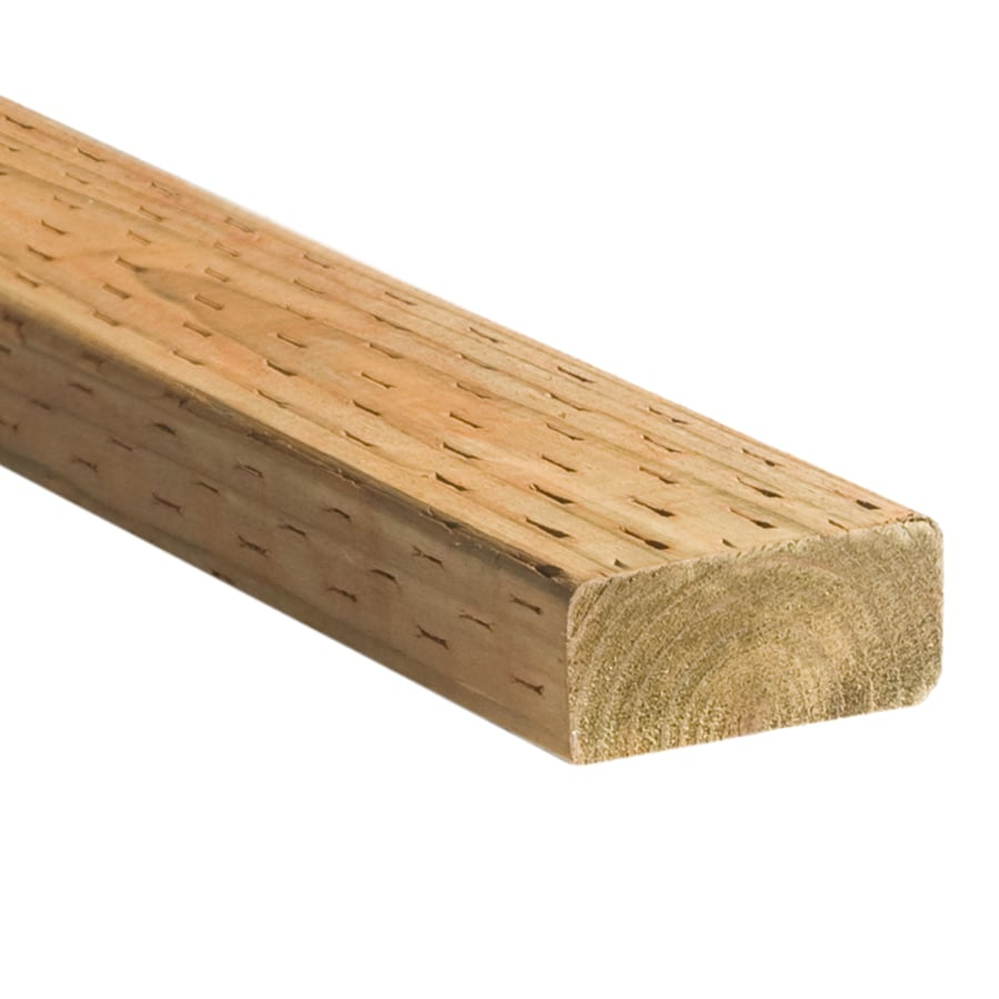 Top Choice Pressure Treated (Common: 2-in x 4-in x 16-ft; Actual: 1.5-in x 3.5-in x 16-ft) Lumber