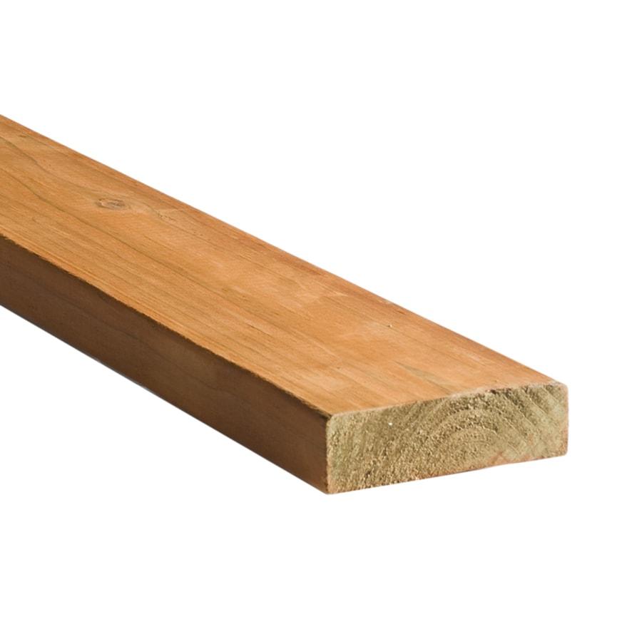 Top Choice Brown Pressure Treated Hemlock Fir Deck Board (Common: 2-in x 6-in; Actual: 1.5-in x 5.5-in x 10-ft)