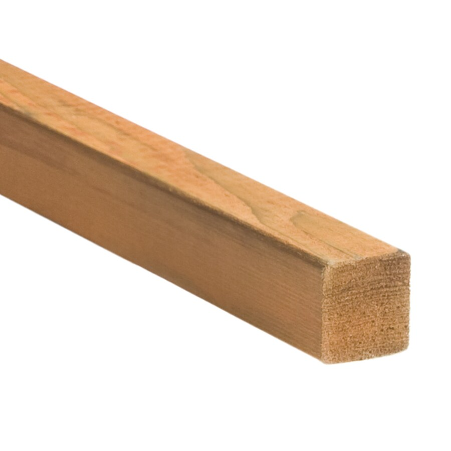 Top Choice Pressure Treated (Common: 2-in x 2-in x 8-ft; Actual: 1.5-in x 1.5-in x 8-ft) Lumber