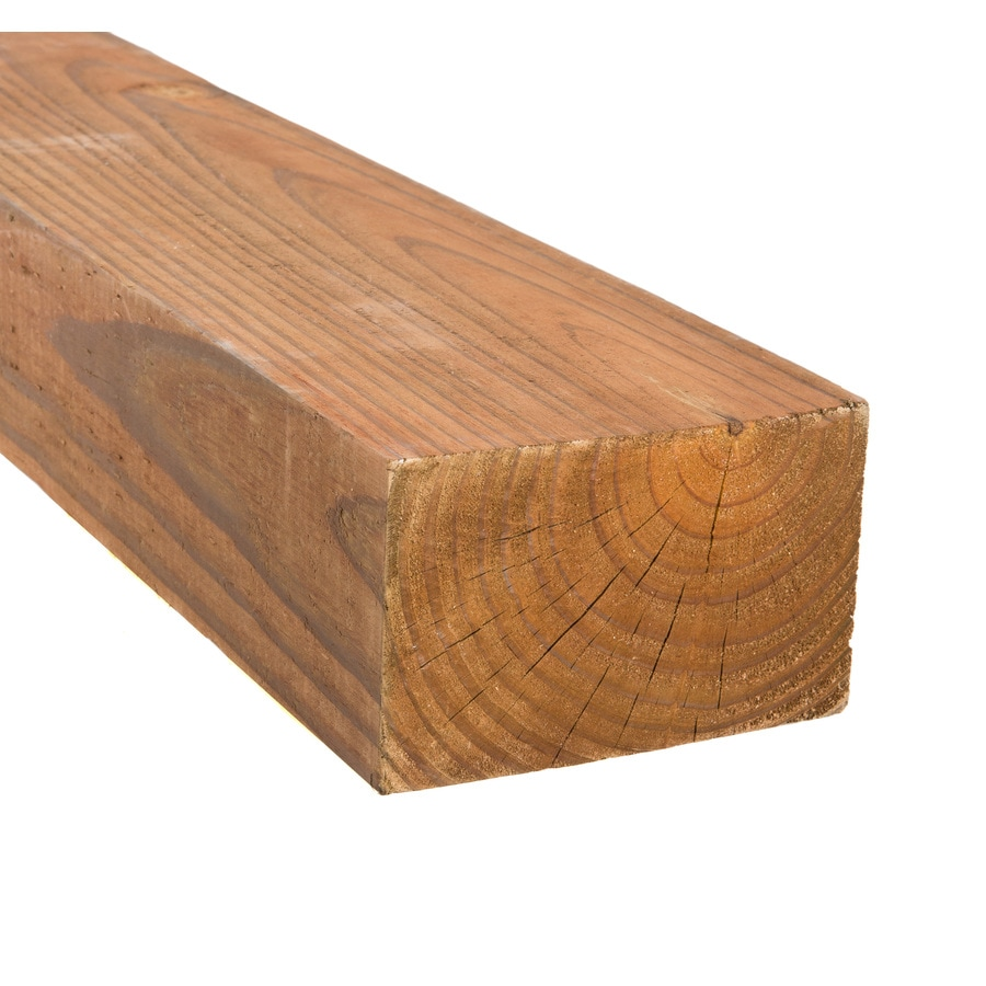 Severe Weather Pressure Treated (Common: 4-in x 6-in x 8-ft; Actual: 3.5-in x 5.5-in x 8-ft) Lumber