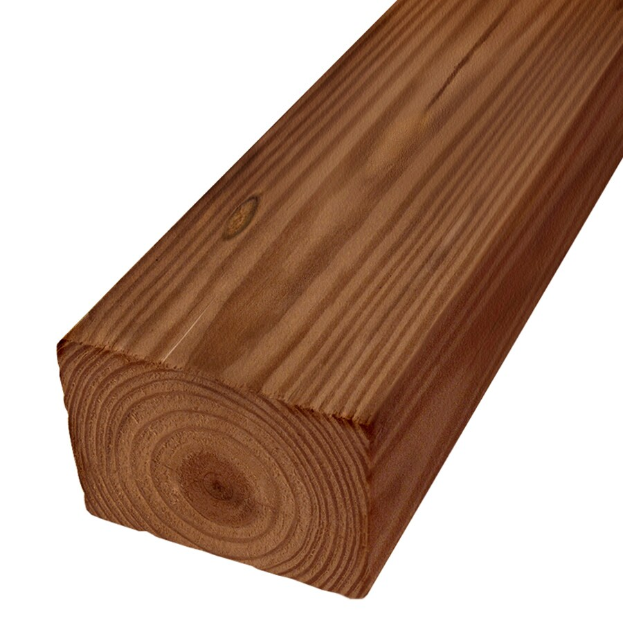 Severe Weather Pressure Treated (Common: 4-in x 6-in x 12-ft; Actual: 3.5-in x 5.5-in x 12-ft) Lumber