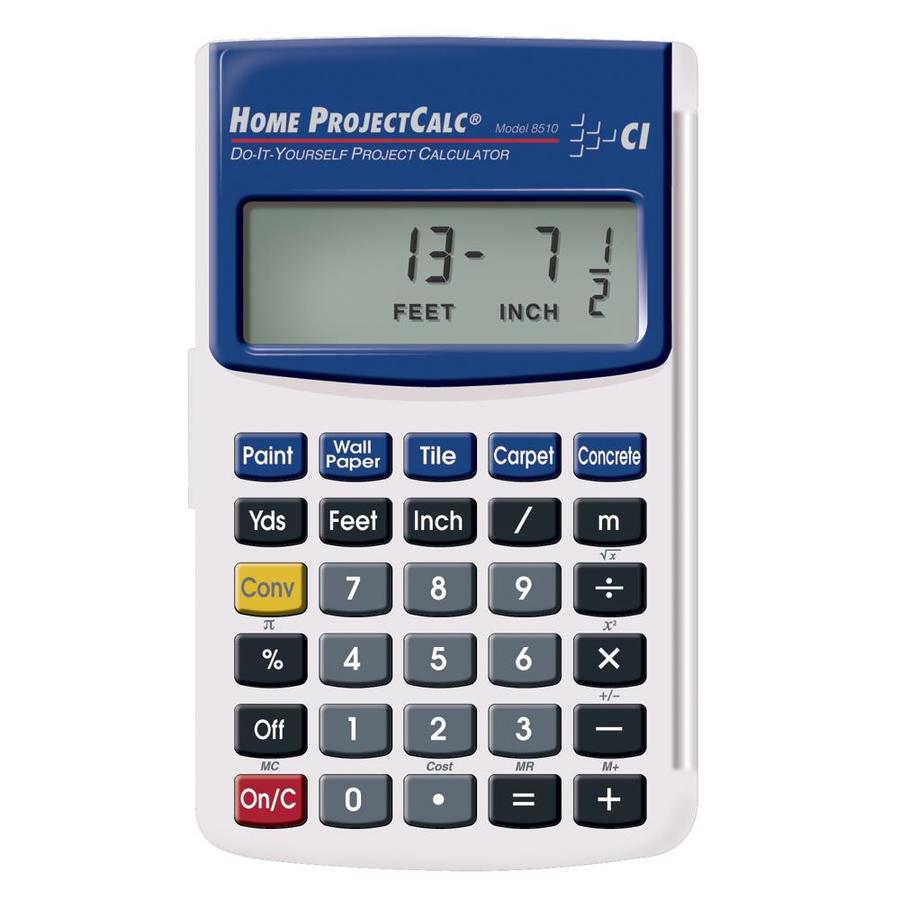 Calculated Industries Home Projectcalc Do-it-Yourself Project Calculator