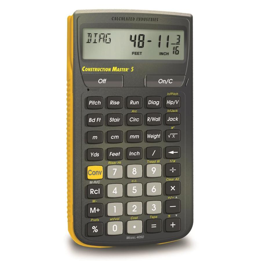 Calculated Industries Construction Master Construction Calculator