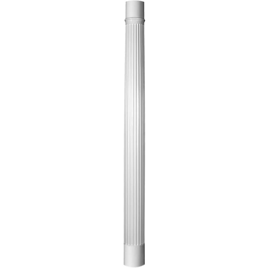 Turncraft 7.625-in x 7.375-ft Unfinished Fiberglass Round Column