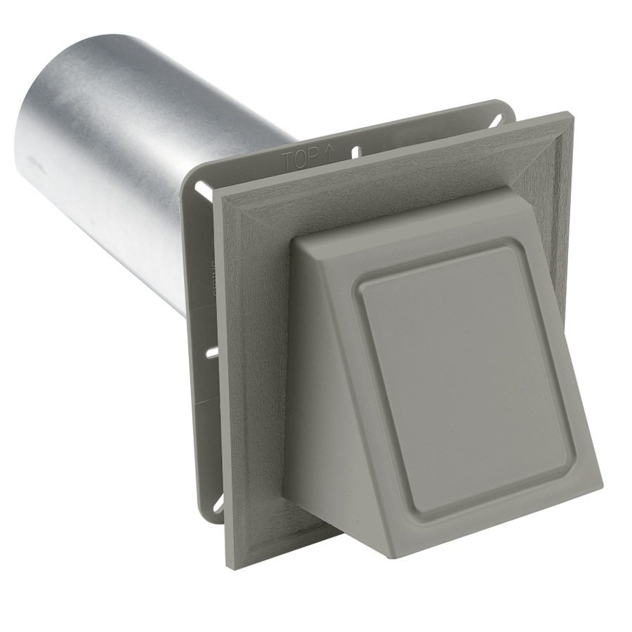 Shop Durabuilt 4 In Dia Plastic R2 Exhaust Dryer Vent Hood
