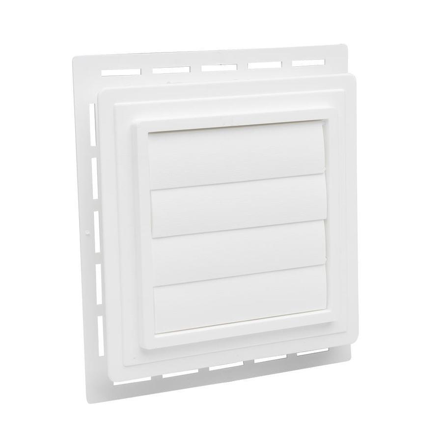 Durabuilt 7.5-in x 8.5-in White/Woodgrain Vinyl Universal Mounting Block
