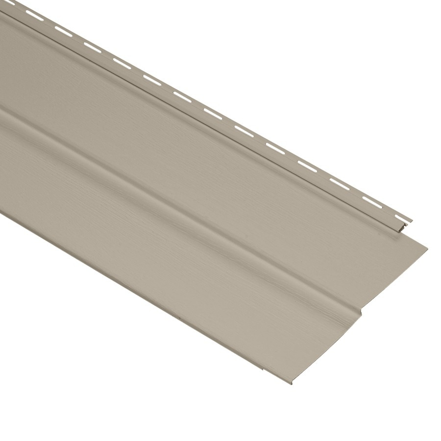 Durabuilt 10-in x 144-in Stone Clay Traditional Vinyl Siding Panel
