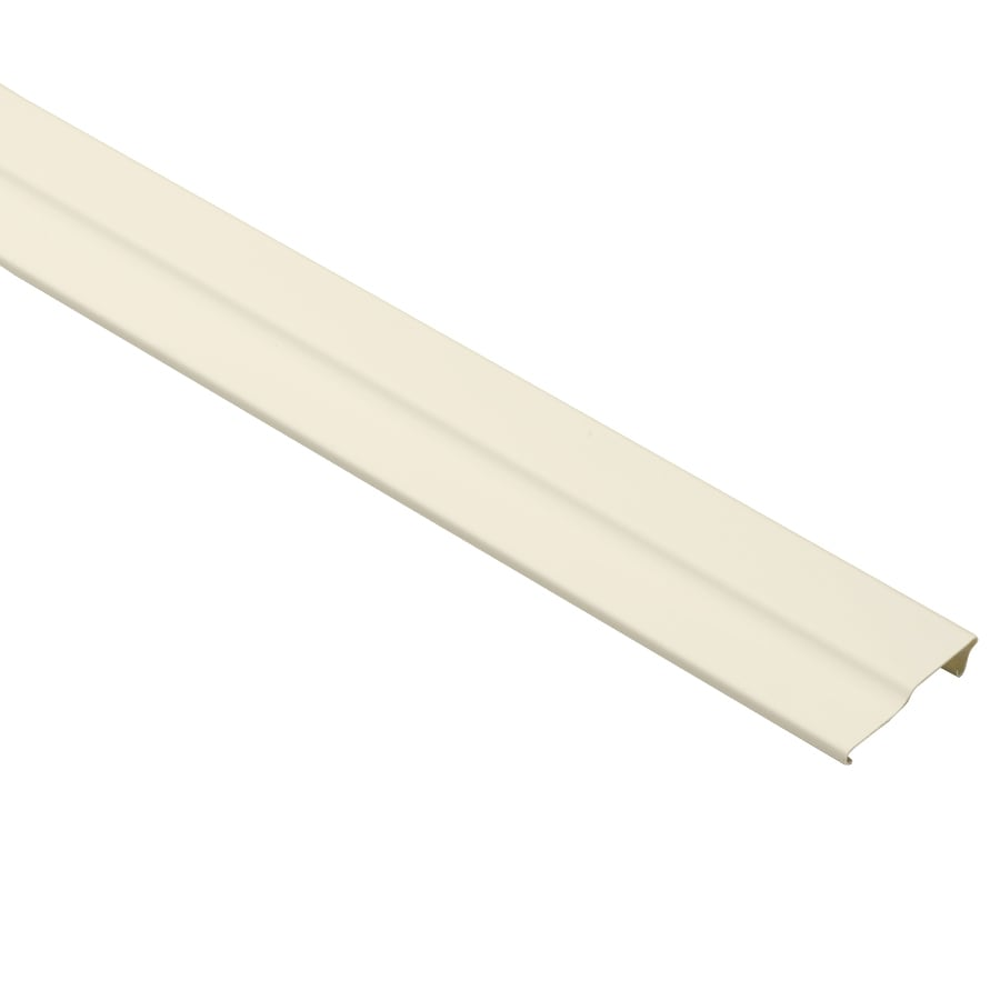 Durabuilt 3-in x 150-in Cream Crown Face Plate Vinyl Siding Trim