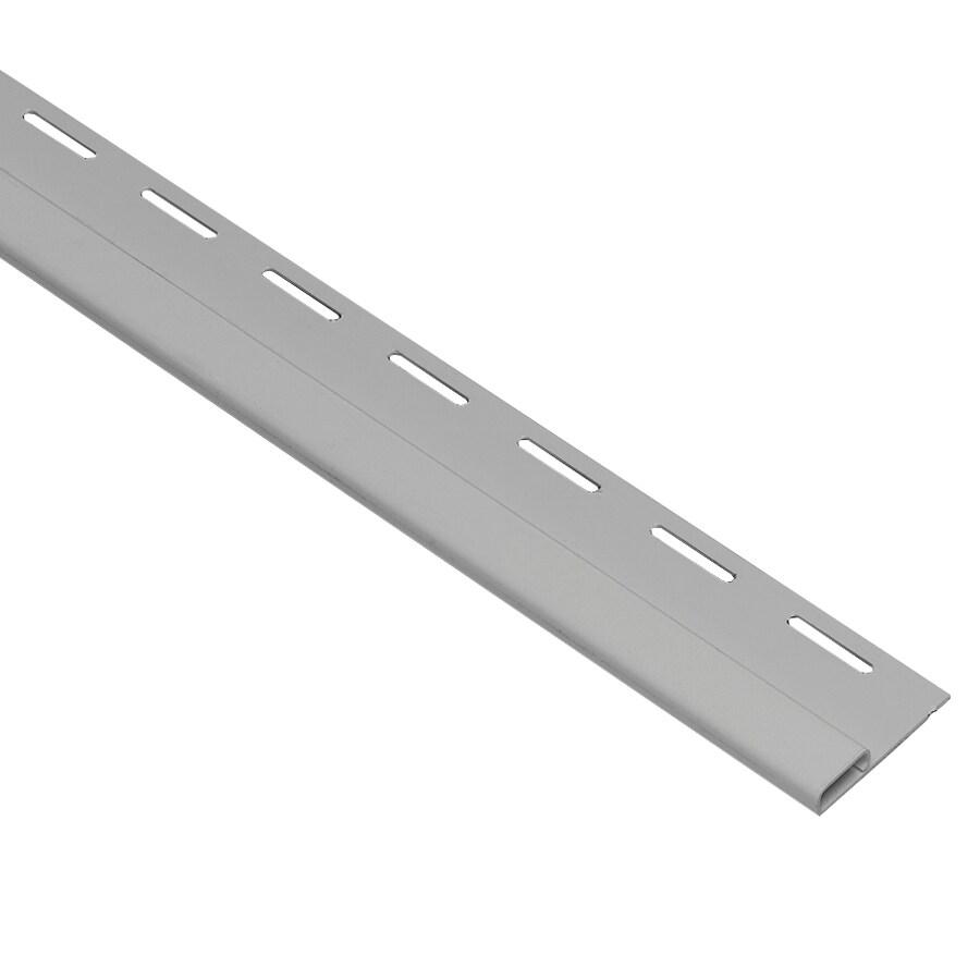 0.75-in x 150-in Gray Undersill Vinyl Siding Trim