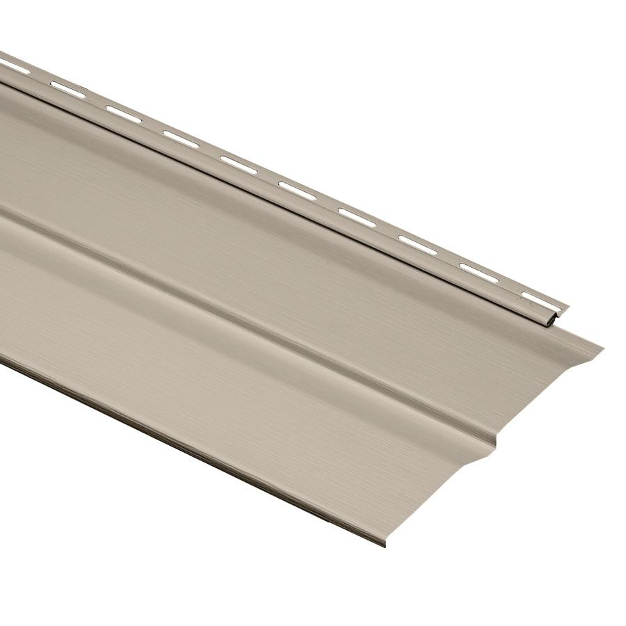 Durabuilt 9-in x 145-in Stone Clay Dutch Lap Vinyl Siding Panel