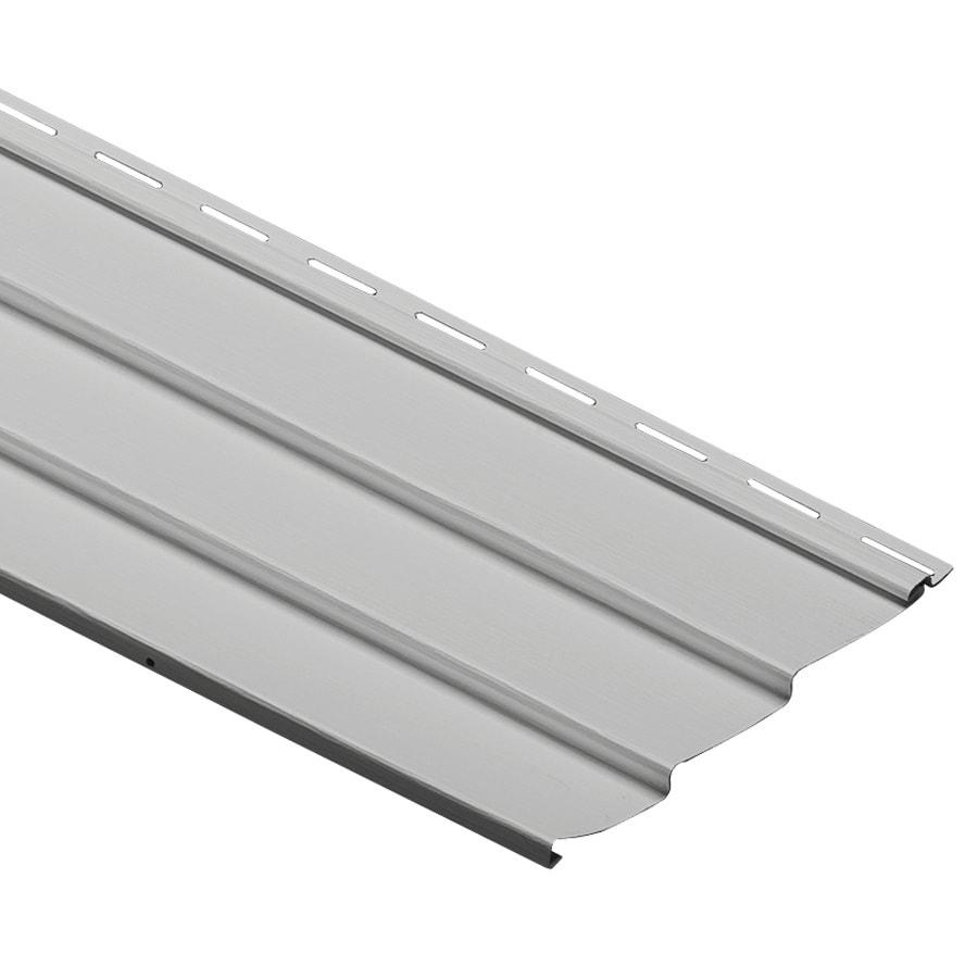Durabuilt 9-in x 145-in Gray Traditional Vinyl Siding Panel