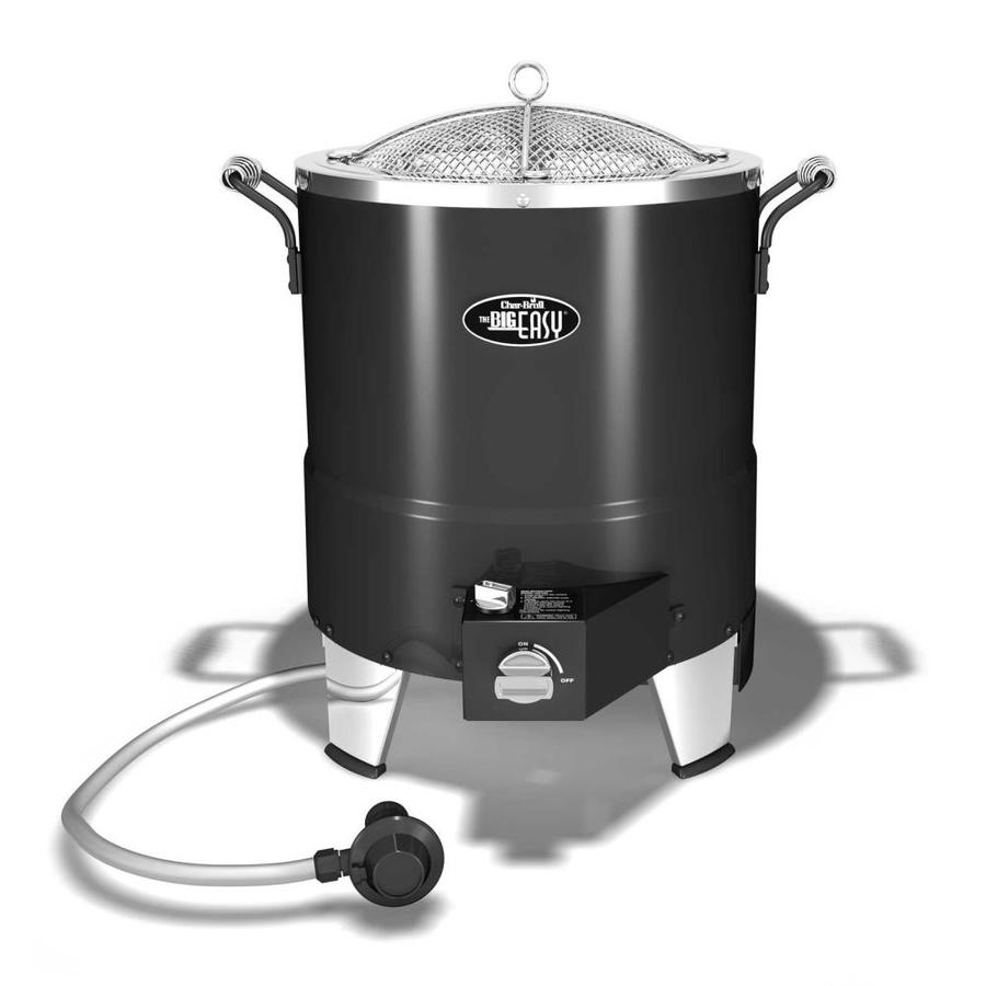 Char-Broil Big Easy 3.46-Gallon 20-lb Cylinder Piezo Ignition Oil-Less Gas Turkey Fryer