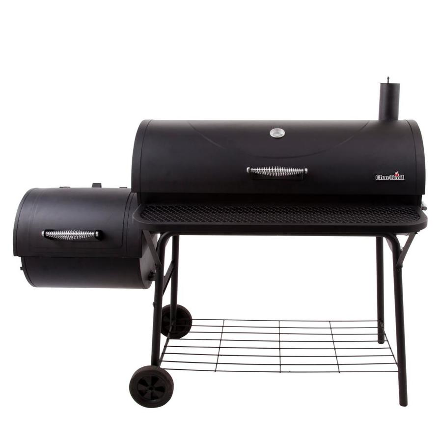 Char-Broil American Gourmet 670-sq in Charcoal Horizontal Smoker