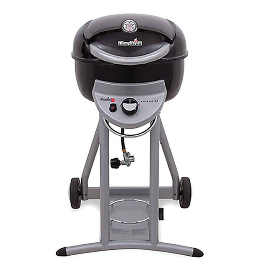 shop char broil patio bistro black 13 000 btu liquid