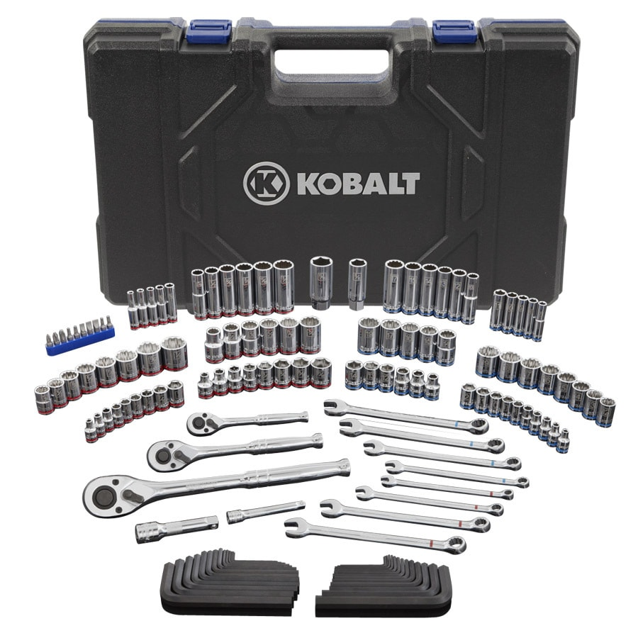 Kobalt 138-Piece Standard (SAE) and Metric Combination Mechanic's Tool Set